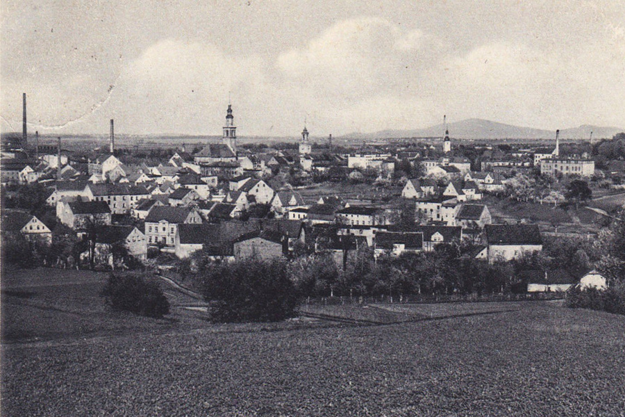 Panorama Świebodzic (Freiburg in Schlesien)