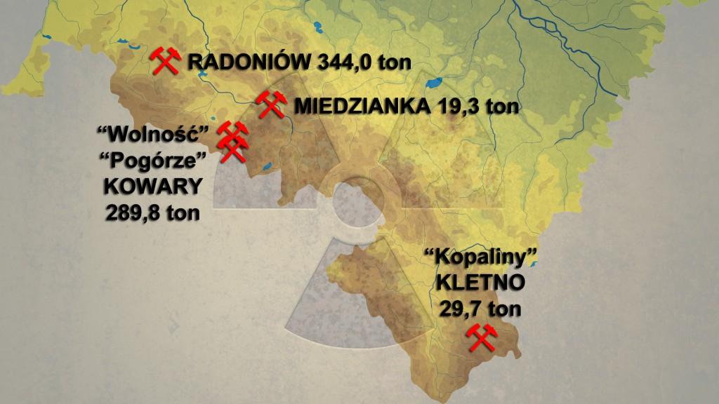Złoża Uranu na Dolnym Śląsku