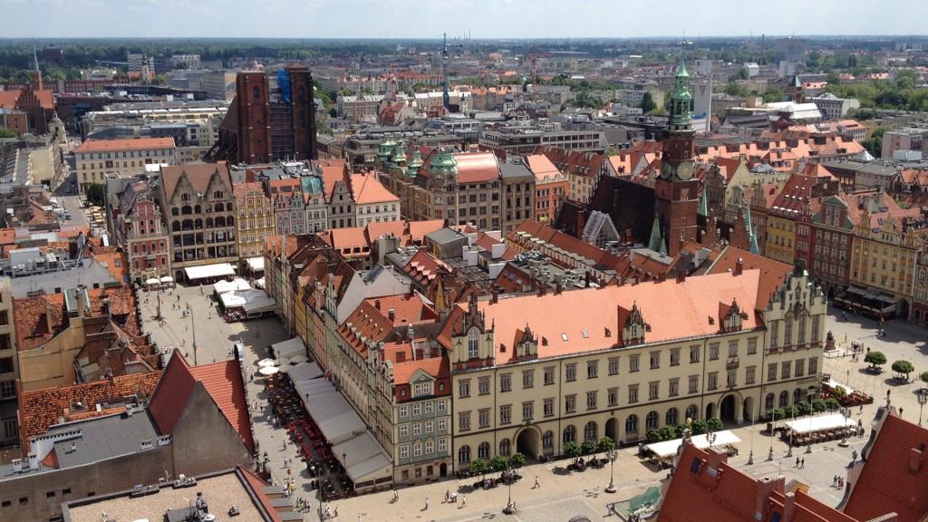 Film o Rynku we Wrocławiu i Starym Mieście