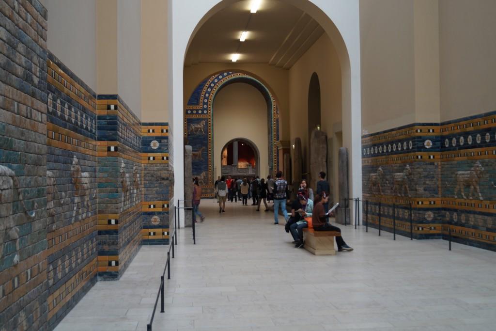 Wnętrza Muzeum Pergamońskiego