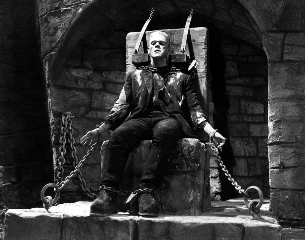 "Kadr z filmu ""Frankenstein"" (1931) - Reżyseria: James Whale"