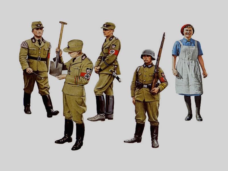 Umundurowanie Reichsarbeitsdienst