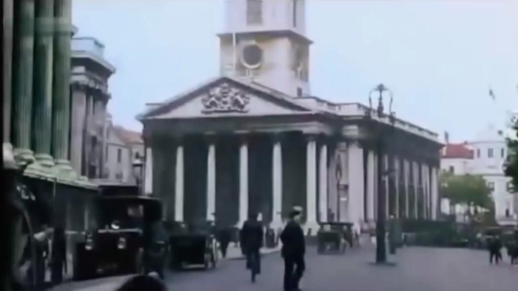 Trafalgar Square w Londynie