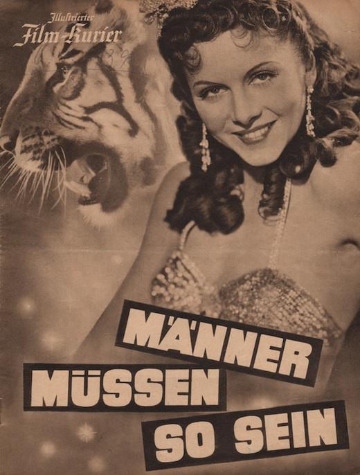 "Plakat filmu ""Männer Müssen So Sein"""