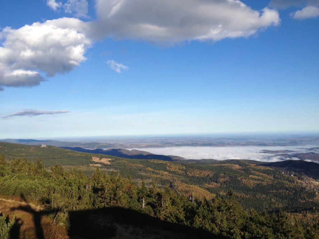 Inwersja temperatury w Kotlinie Jeleniogórskiej