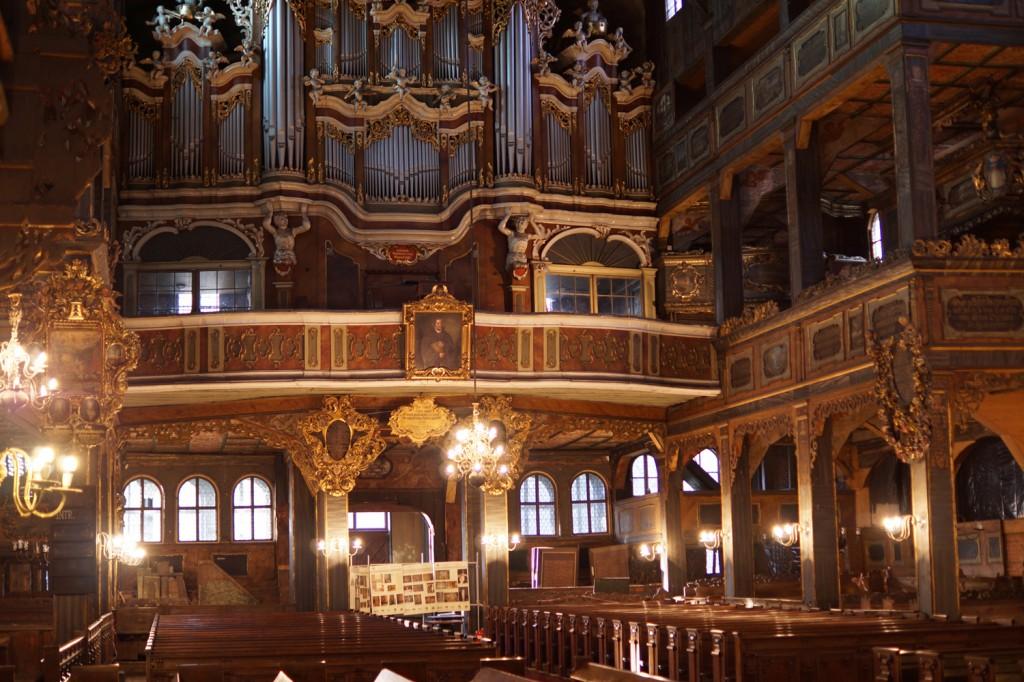 Imponujące wnętrze Kościoła Pokoju w Świdnicy - Mapa Światowego Dziedzictwa UNESCO w Polsce