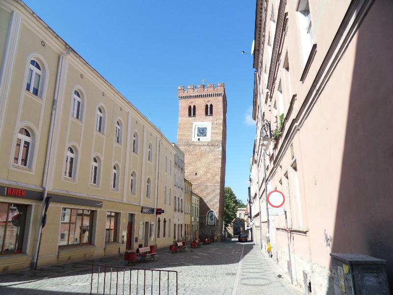 Krzywa Wieża w Ząbkowicach Śląskich - Zdjęcie: Rossomak