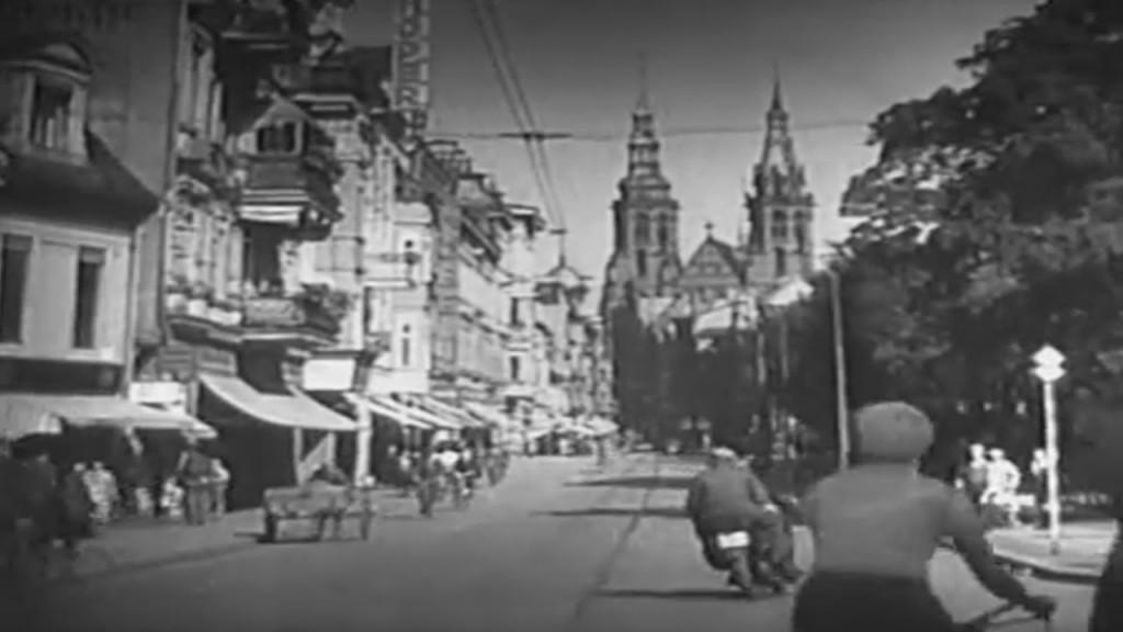 Kadr z filmu - Legnica przed wojną