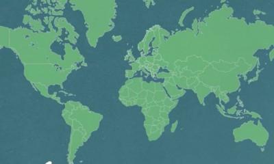 mapa kontynentow