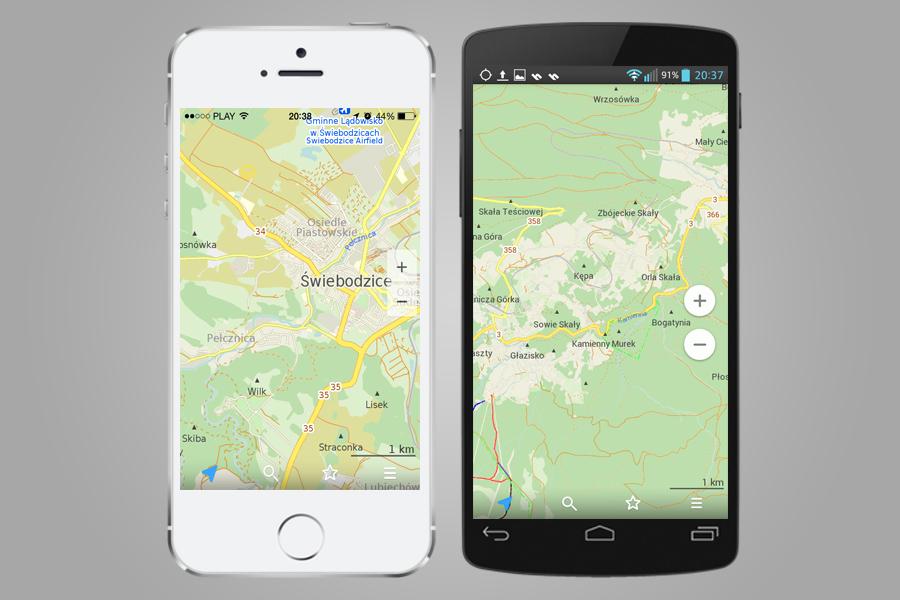 Maps.me - Mapy na Androida i iOSa