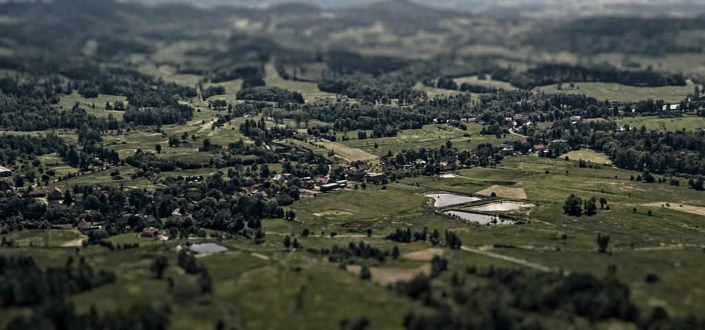 Dolny Śląsk – Efekt Tilt-Shift
