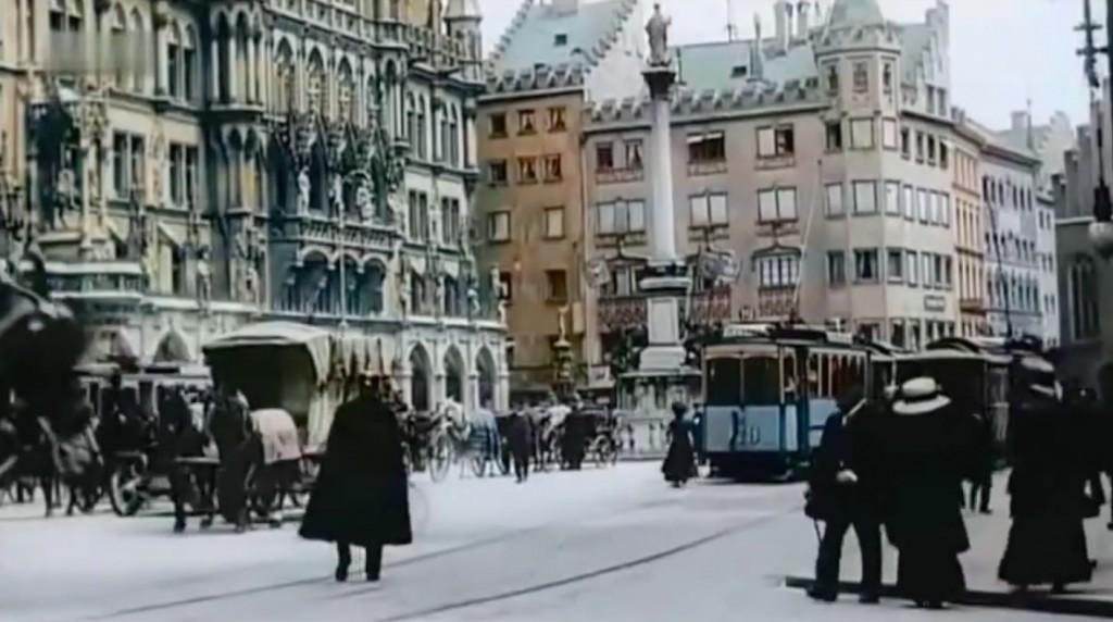 Plac Mariacki i Ratusz w Monachium