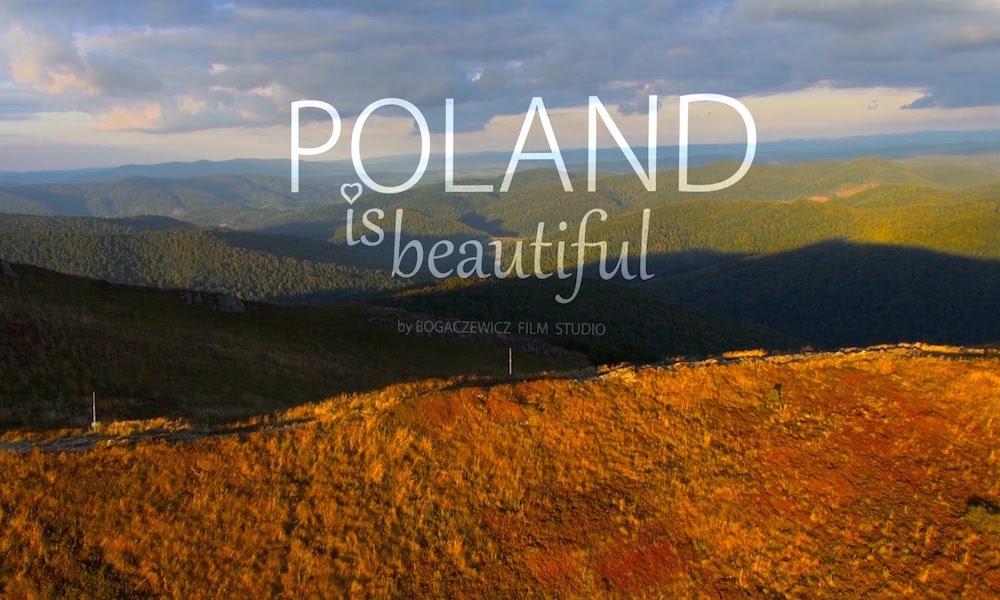 Kadr z Filmu Poland is beautiful - Polska jest piękna - Źródło: www.youtube.com