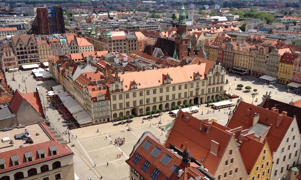 Rynek we Wrocławiu - Ciekawe Miejsca na Dolnym Śląsku