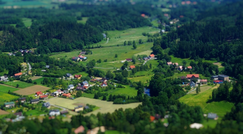 Gotowy efekt Tilt-Shift