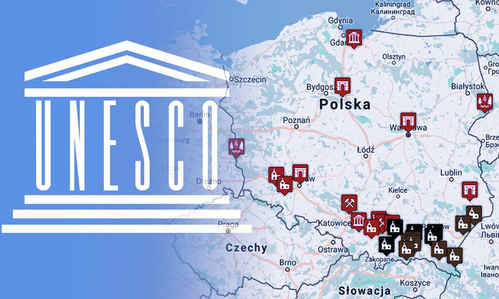 Mapa Swiatowego Dziedzictwa Unesco W Polsce Eloblog