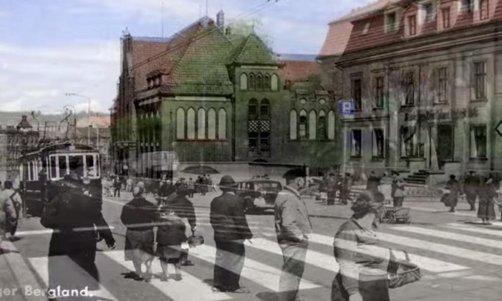 Wałbrzych przed wojną i dzisiaj