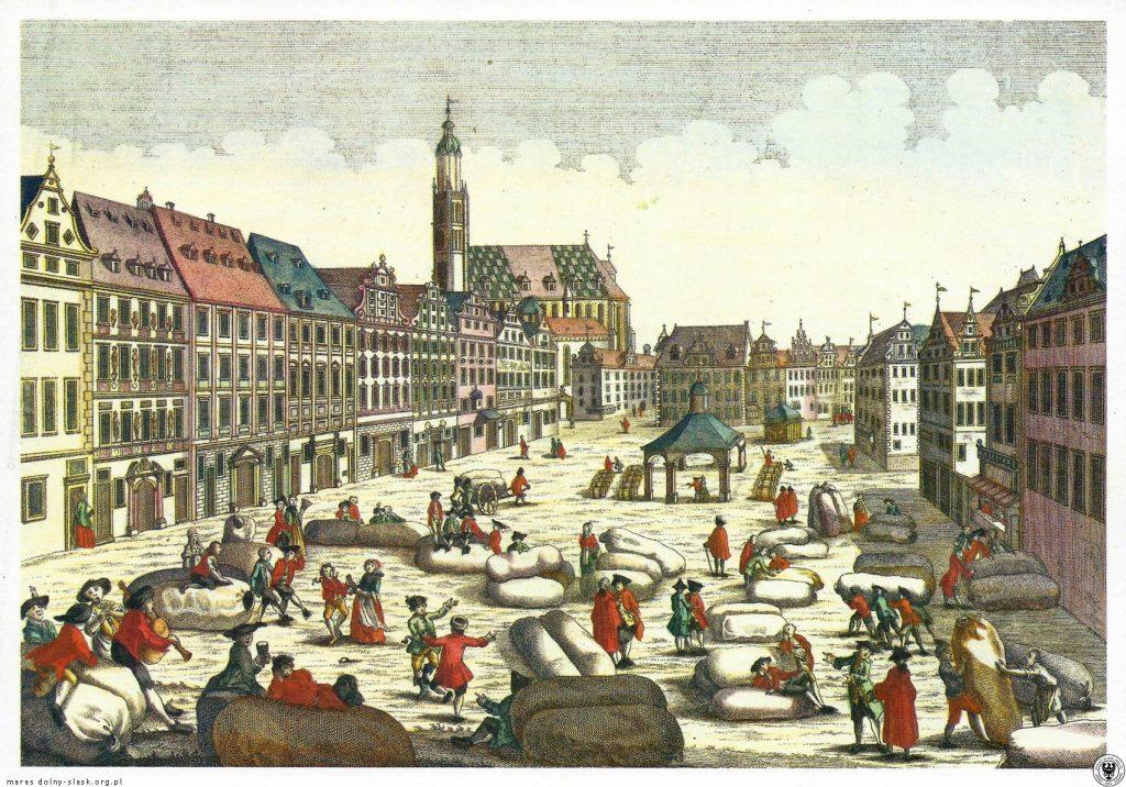 Rynek i Wielka Waga Miejska - Źródło: dolny-slask.org.pl