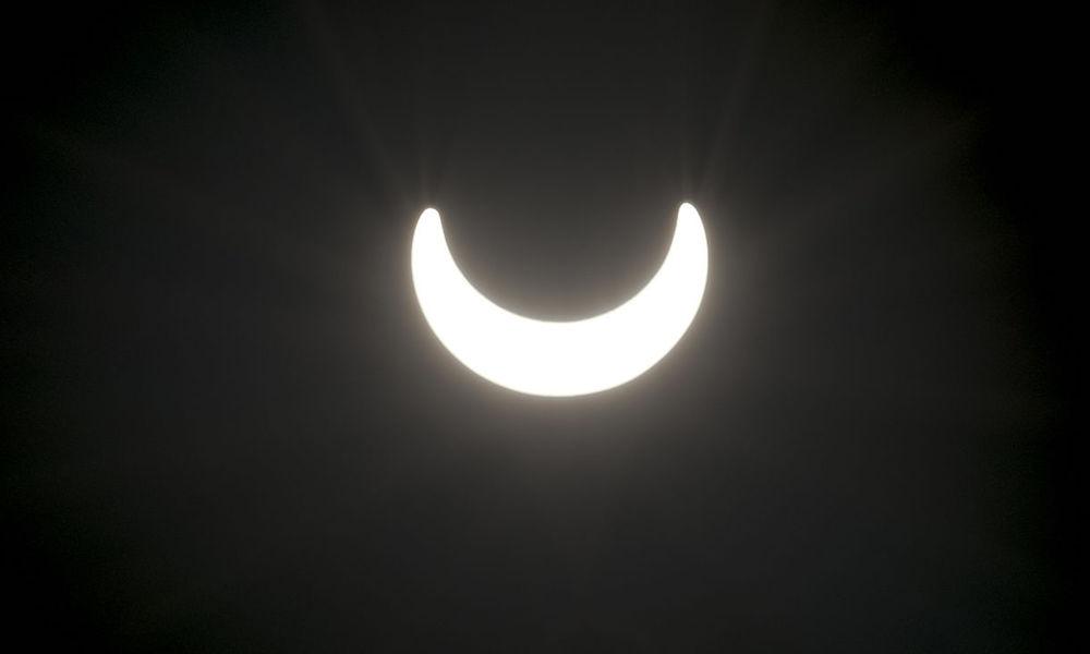 Zaćmienie Słońca - Zdjęcie: Ninjiangstar Źródło: http://commons.wikimedia.org