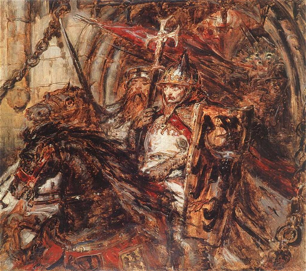 Henryk II Pobożny Autor: Jan Matejko - Film o historii Piastów Śląskich