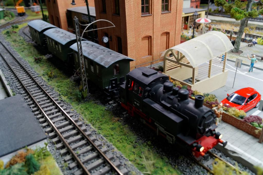 Model pociągu w Kolejkowo
