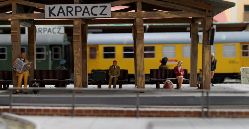 Stacja Karpacz w Kolejkowo