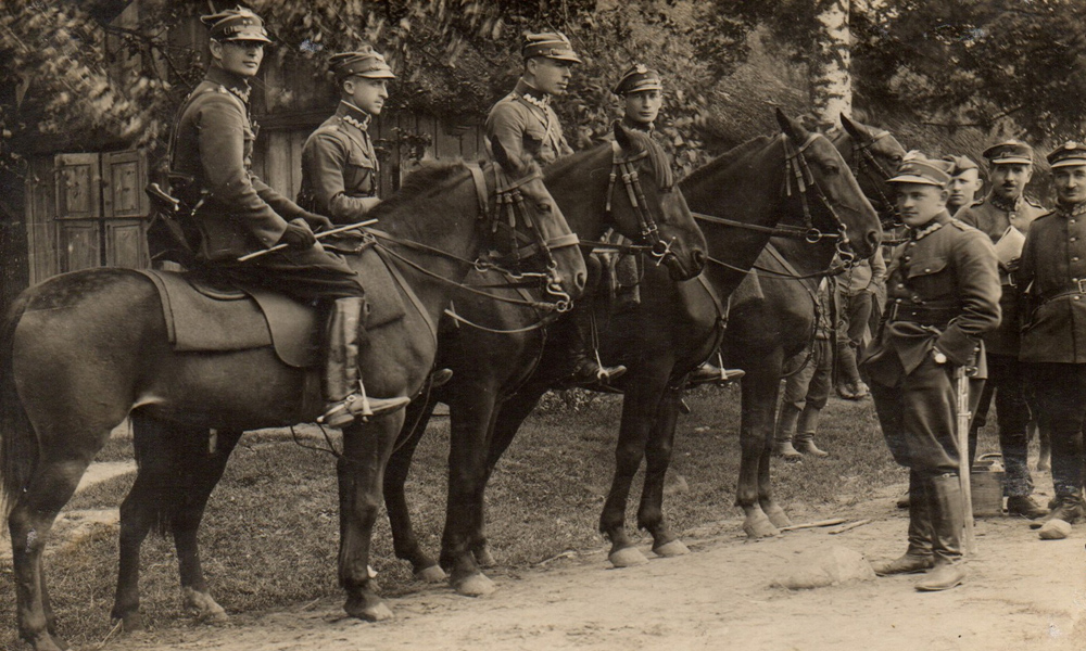 Stare Zdjęcia Kawalerii II Rzeczypospolitej Polskiej