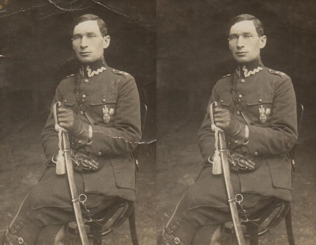 Podporucznik Jan Kochman - Stare Zdjęcia Kawalerii II RP
