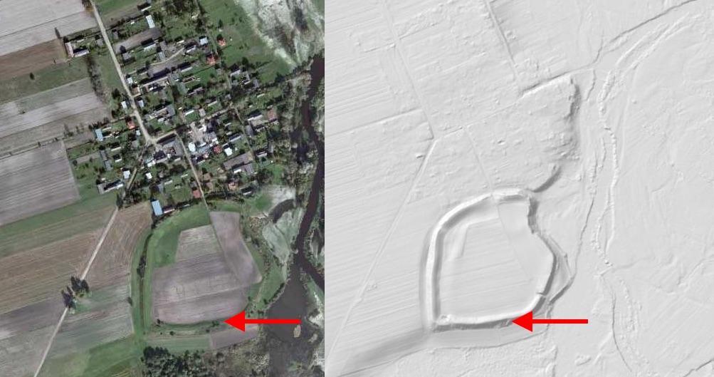 Zostań Odkrywcą - Grodzisko Liw - Źródło: geoportal.gov.pl