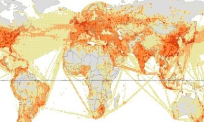 mapa emisja dwutlenek wegla