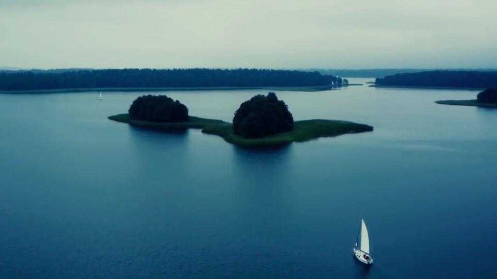Zachwycające Mazury na filmie z lotu ptaka - Źródło: https://www.youtube.com