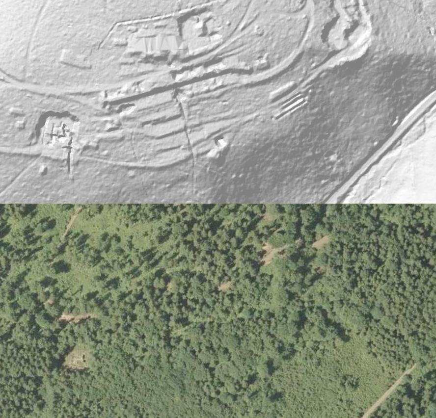 Zostań Odkrywcą - Osówka Riese - Źródło: http://geoportal.gov.pl