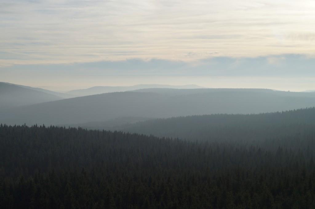 Widok z Gór Izerskich - Top 10 Punktów Widokowych na Dolnym Śląsku