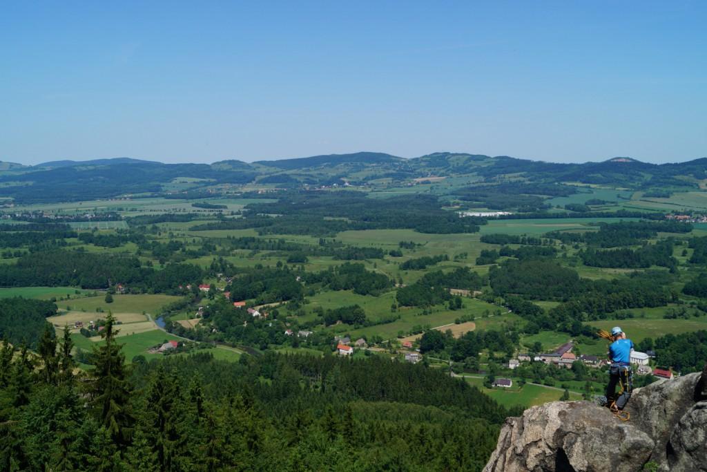 Widok z Sokolika - Top 10 Punktów Widokowych na Dolnym Śląsku