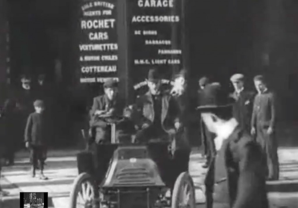 Rochet Cars - Anglia na Starym Filmie