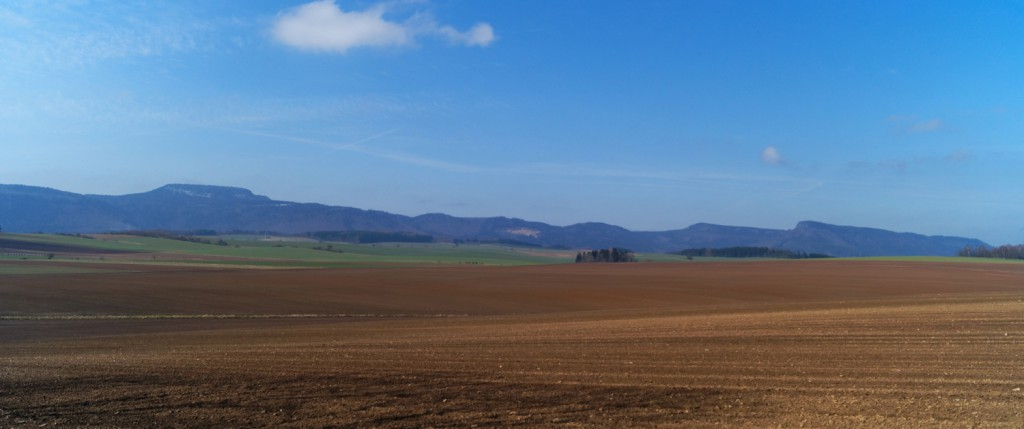 Panorama Góry Stołowe - Szczeliniec Wielki Po Lewej