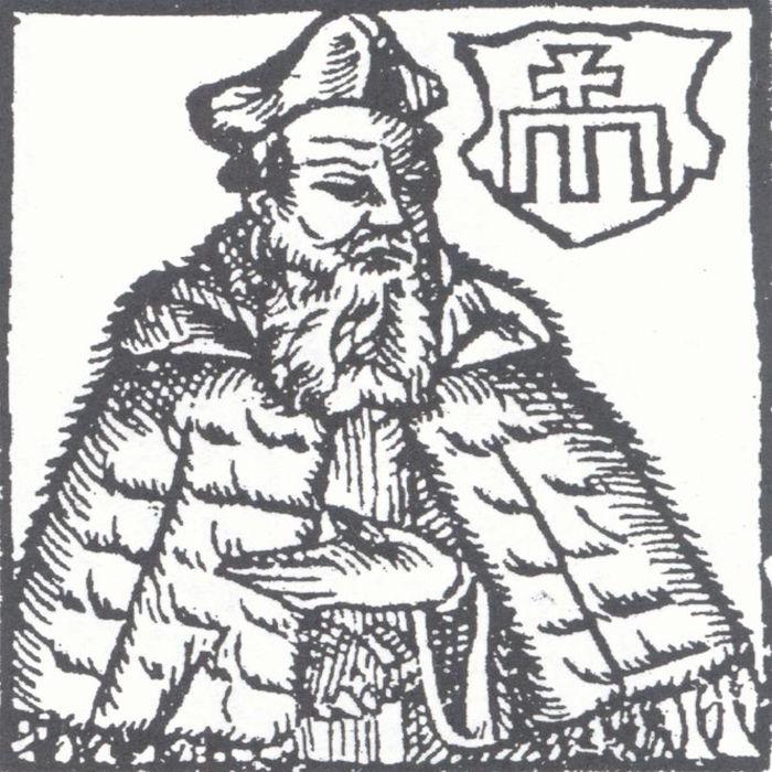 Wacław Grodecki - Autor omawianej mapy