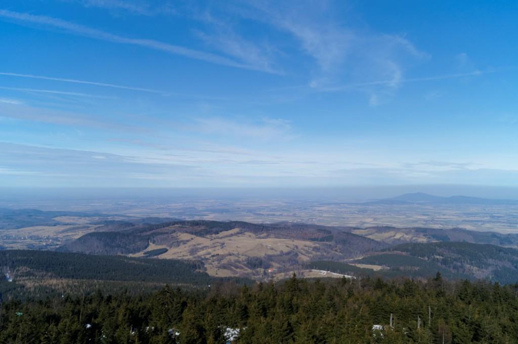 Widok z Wieży na Wielkiej Sowie