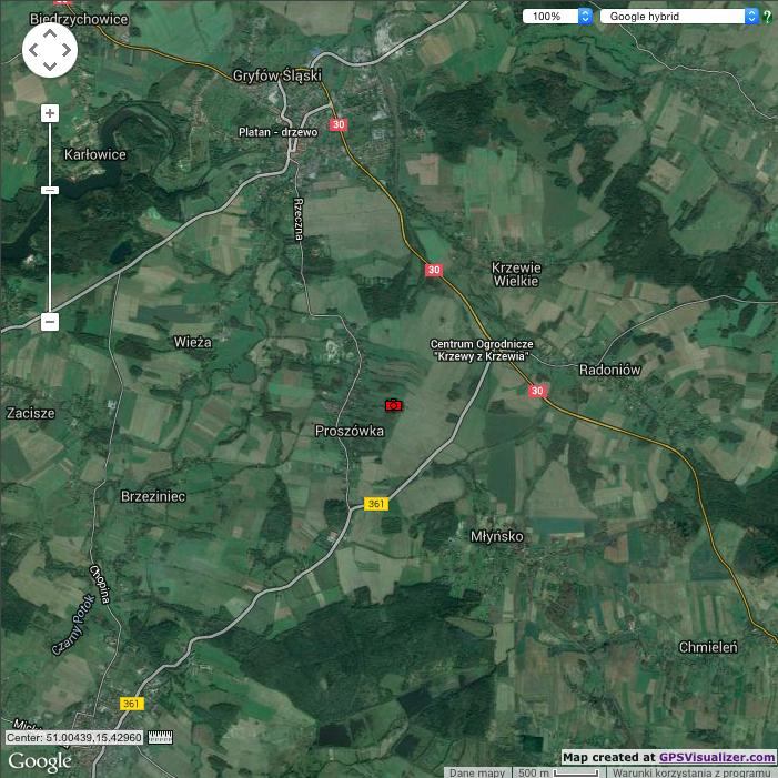 Odczytywanie Położenia GPS Zdjęcia na Mapie - GPS Visualizer