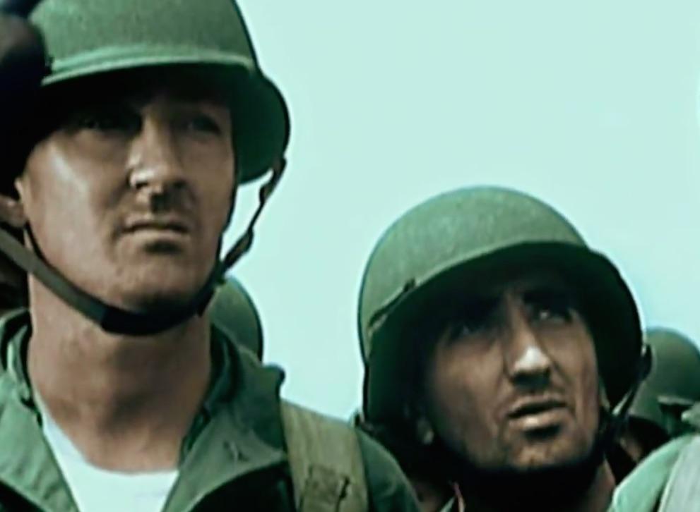 Żołnierze Amerykańscy na Pacyfiku
