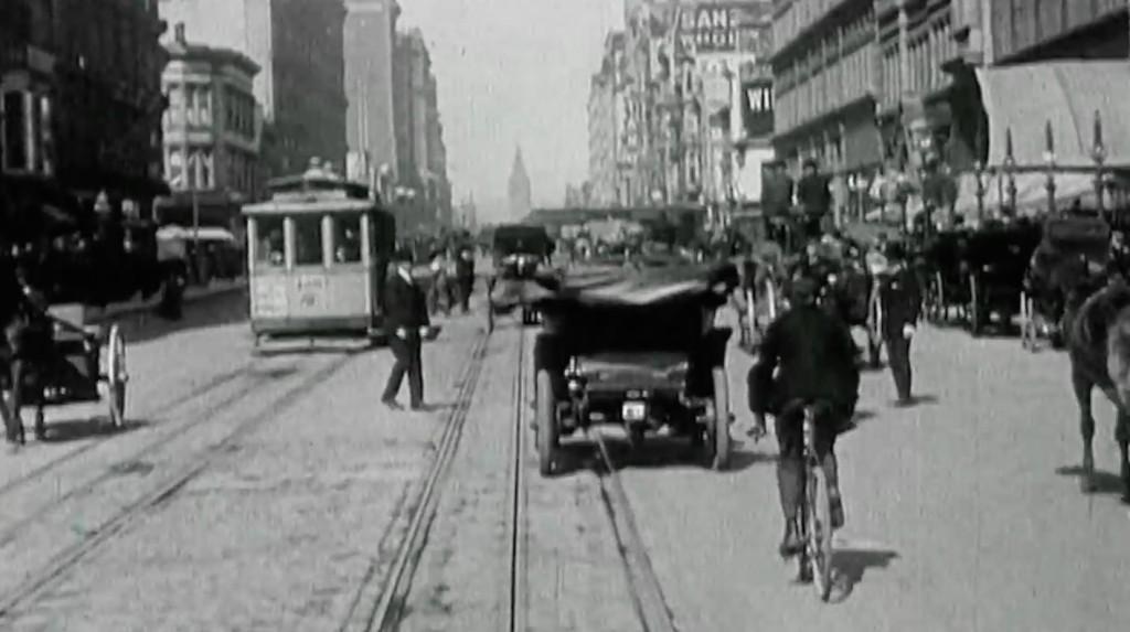 San Francisco na filmie przed trzęsieniem ziemi