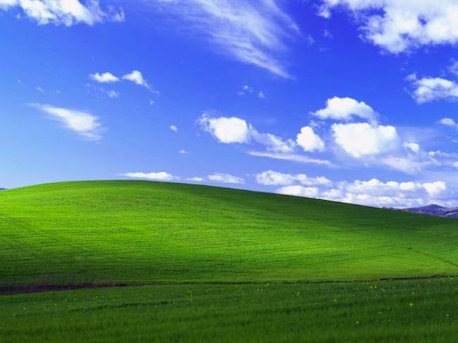Bliss - 10 Przełomowych Zdjęć - Autor: Charles O'Rear Źródło: Zrzut Ekranu Windows XP