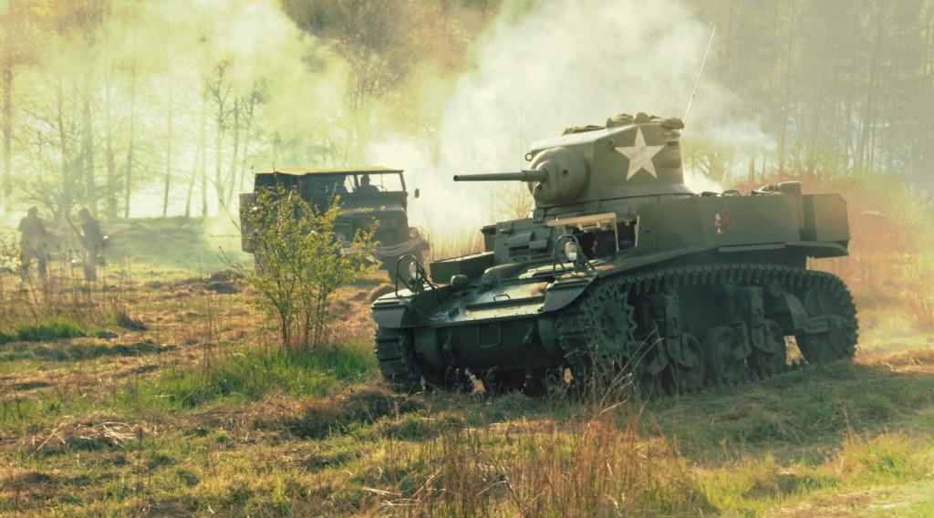 Amerykański Czołg Lekki Stuart