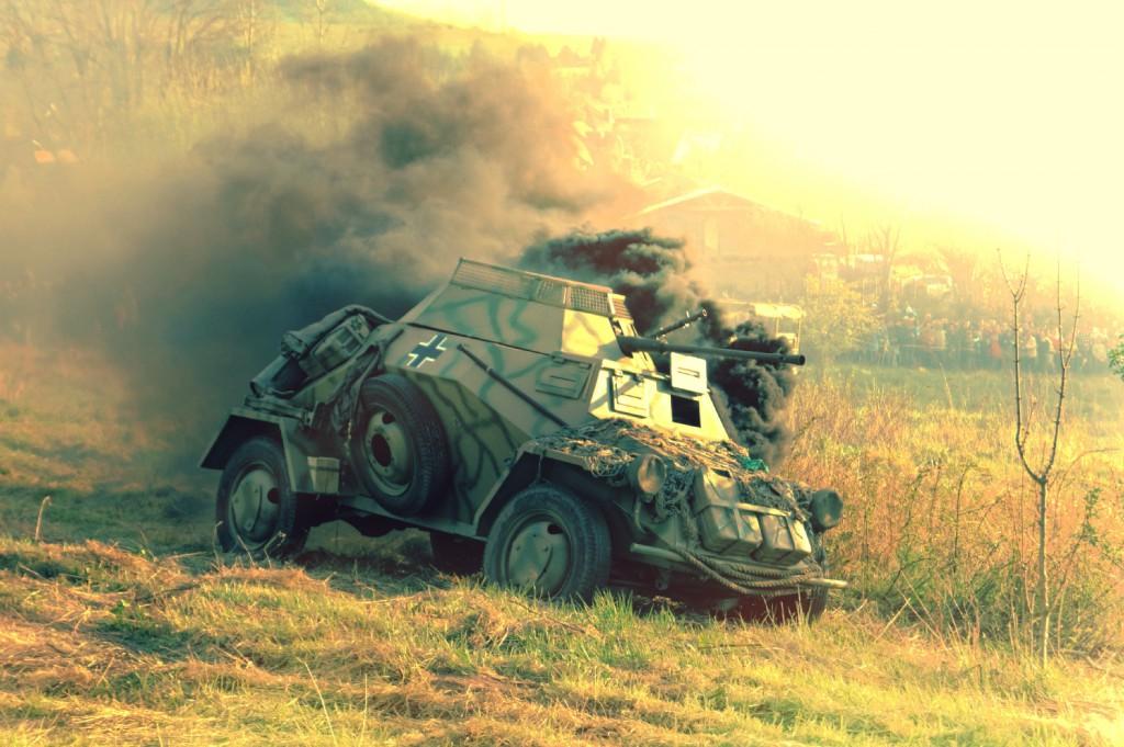 Trafiony Leichter Panzerspähwagen