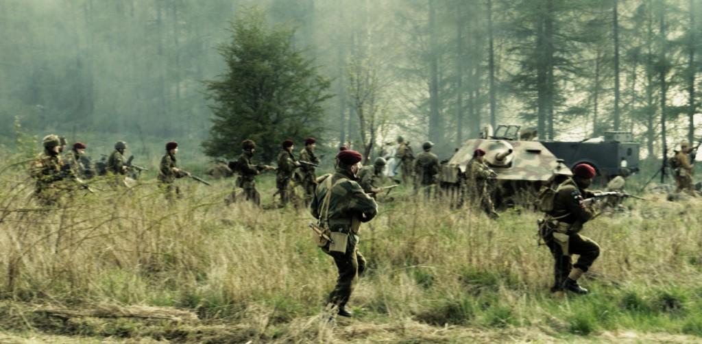 Inscenizacja bitwy - Rajd Arado 2015