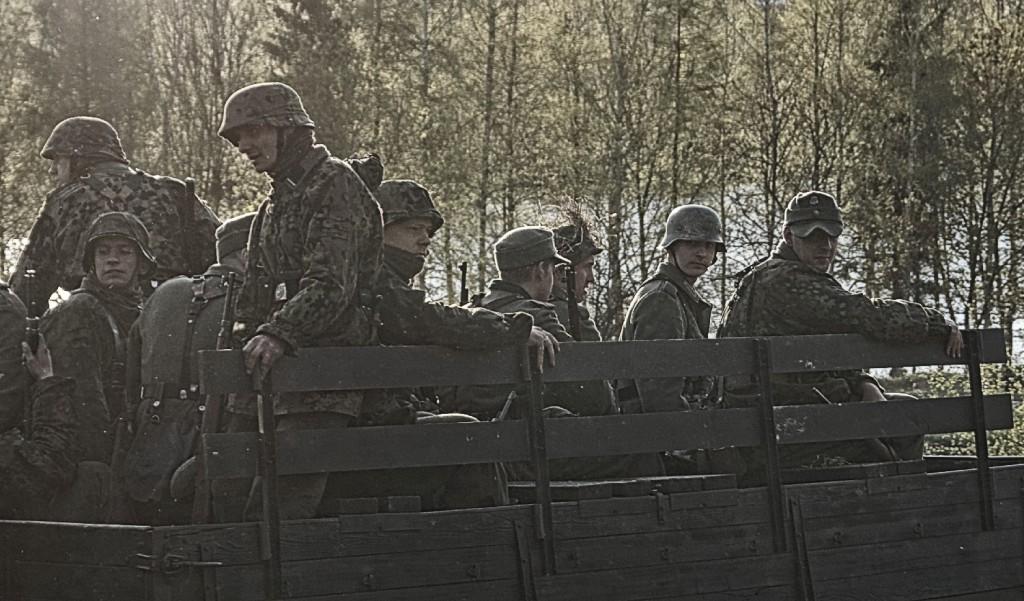 W drodze na pole bitwy