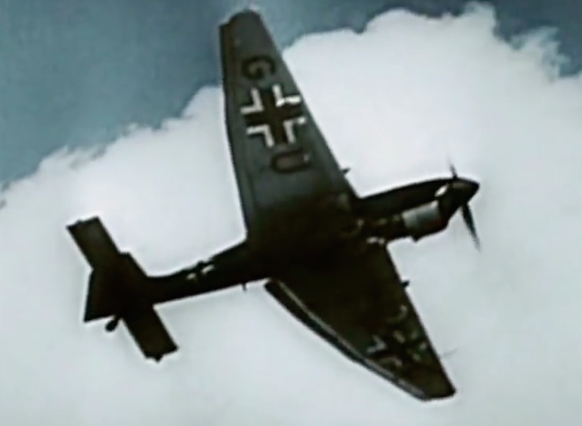 Bombowiec nurkujący Luftwaffe Junkers Ju-87