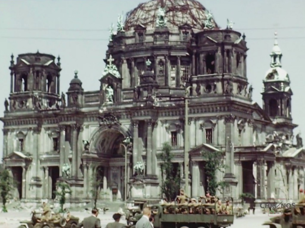 Katedra w Berlinie (Berliner Dom) 1945 Rok - Źródło: www.youtube.com