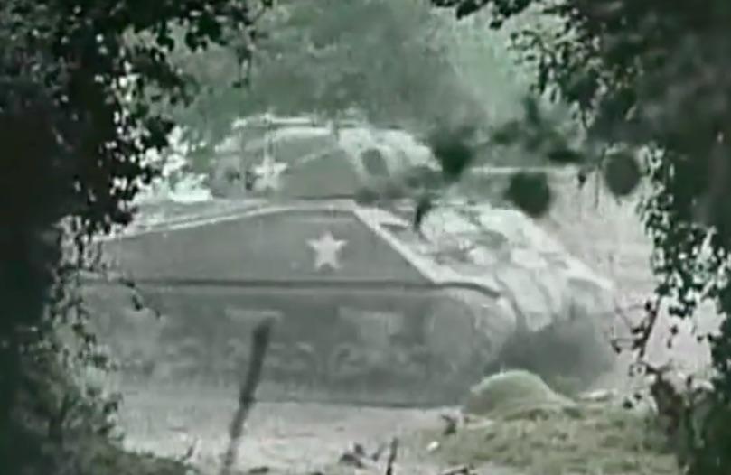 Amerykański czołg M4 Sherman