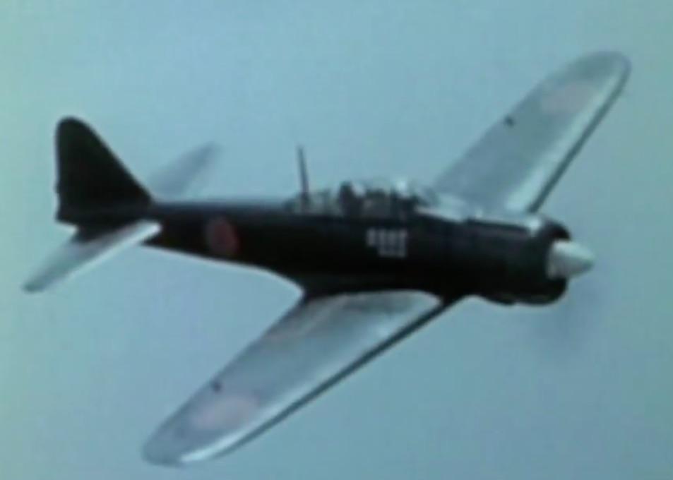 Japoński Myśliwiec Mitsubishi A6M Zero